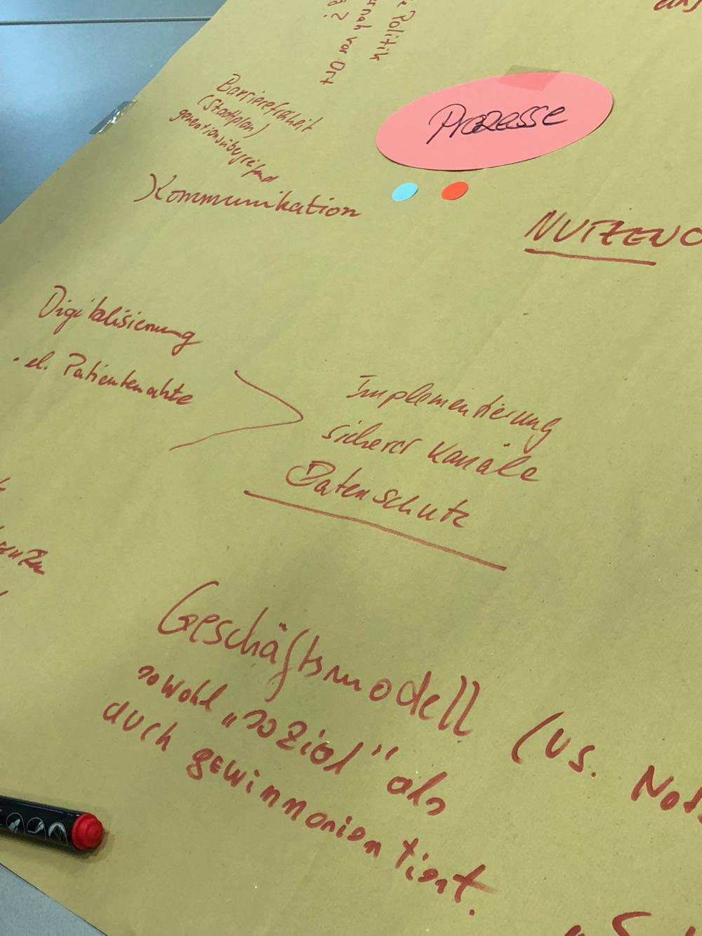 Die Begleitforschung im Workshop »Vernetzung«